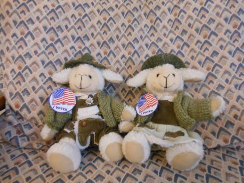 The Lambs vote