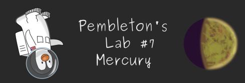 Permleton's Lab 7: Mercury