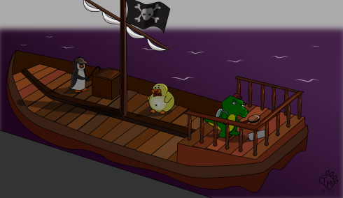 """Does this ship, belong to who I think it belongs to?""- Ducky"