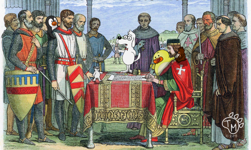 DTPB & the signing of the Magna Carta
